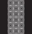 rectangular lattice pattern background in oriental vector image vector image