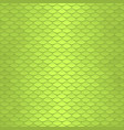 seamless scale pattern green squama texture vector image vector image