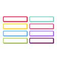 set 3d colored web buttons design templates