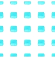 Sky blue geometric seamless pattern vector image vector image