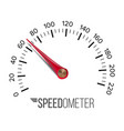 speedometer car abstract console gauge vector image