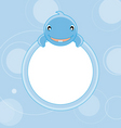 whale frame vector image