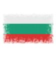 bulgarian flag halftone vector image vector image