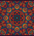 Colorful geometric seamless pattern vector image