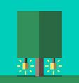 Creativity tree flat style vector image vector image