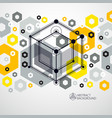 engineering technology yellow wallpaper made with vector image
