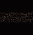 fireworks seamless pattern sparkler vector image