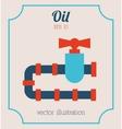 oil icon vector image vector image