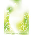 springtime seamless background vector image vector image