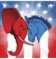 american politics vector image vector image