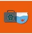 Animal shop design vector image vector image