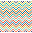chevron colorful seamless geometric pattern vector image vector image