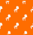 little pony pattern seamless vector image vector image