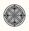 sacred geometry 0144 vector image