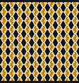 trendy leaf diamond stripes seamless vector image