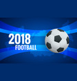 world cup background template flyer design layout vector image vector image