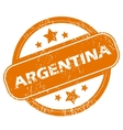 Argentina grunge icon vector image vector image