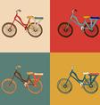 bicycle desing vector image