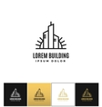 Commercial real estate logo icon vector image vector image