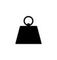 Kilogram Icon Flat vector image