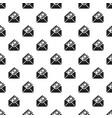 money envelope pattern seamless vector image vector image
