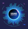 music abstract background planet sound bright