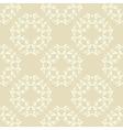 Neutral beige plant wallpaper vector image vector image