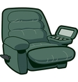 Reclining Chair vector image vector image