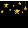Sparkling Gold Stars