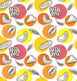 Baking seamless pattern vector image vector image