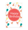 Birthday pink card image