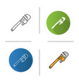 monkey wrench icon vector image