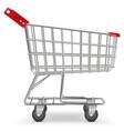 Supermarket Cart vector image