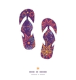 textured christmas stars flip flops silhouettes vector image vector image