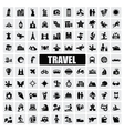 travel and landmarks vector image