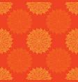 abstract circular rose pattern vector image
