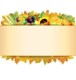 Autumn Thanksgiving Background EPS 10 vector image vector image