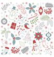 Christmas Time Set vector image vector image