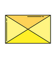 envelope mail symbol vector image