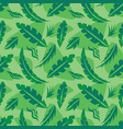 leaves exotic plants - creative vector image