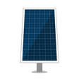 solar panel design sun energy modules vector image