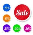 Promo sale stickers vector image