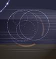 circles and dots vector image vector image