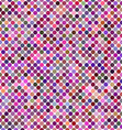 Colorful abstract polkadot pattern background vector image vector image