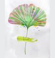 ginkgo biloba leaf vector image