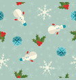 New year seamless pattern