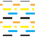 rectangles abstract pattern vector image vector image