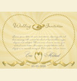 ribbon wedding r2 vector image