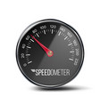 speedometer auto car panel realistic vector image