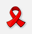 symbol world aids awareness day vector image
